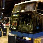 Los viajes en y autobús a buenos aires