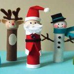 Has en familia tus propias manualidades para navidad