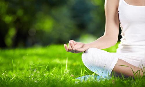cuerpo medita