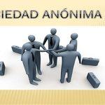 Detalles y características de las sociedades anónimas